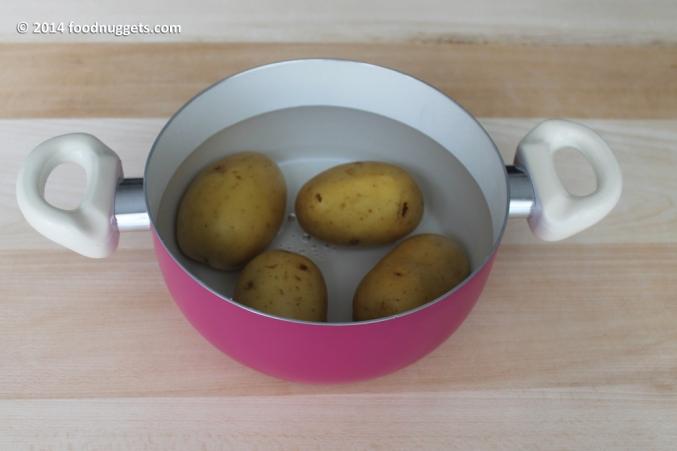 1. Lessa le patate