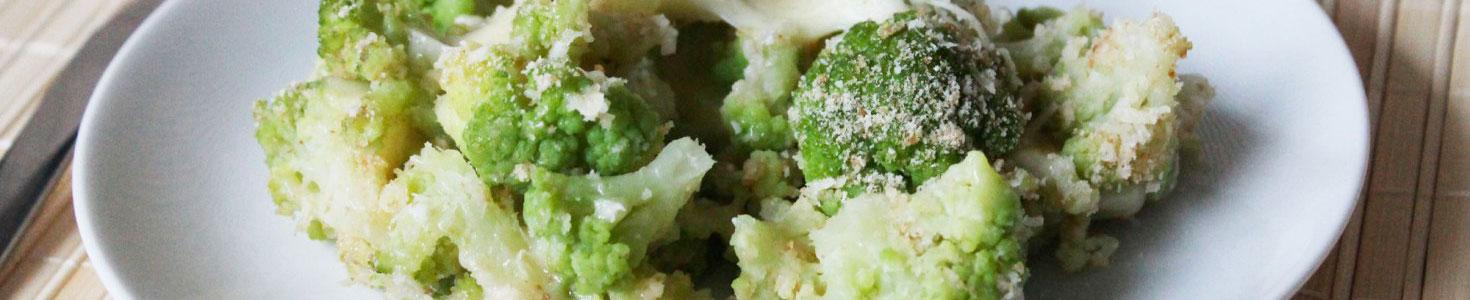 Cavolo verde ai due formaggi