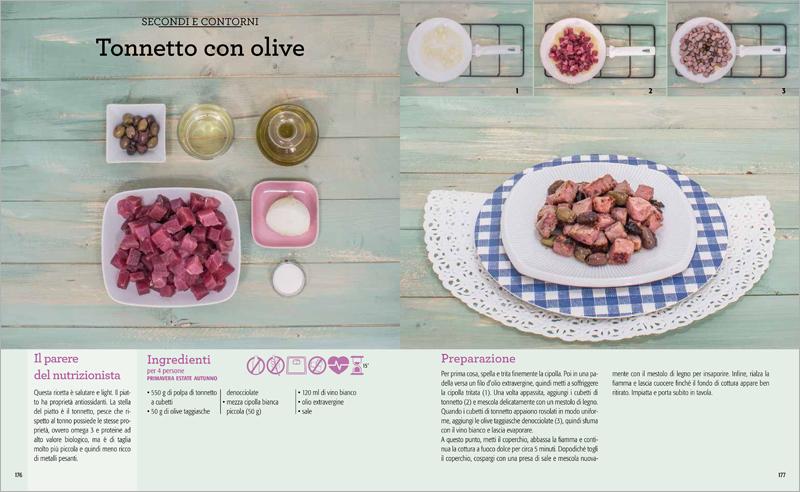 Le ricette per stare bene (pagg. 176-177). Foto: Laura Tiso
