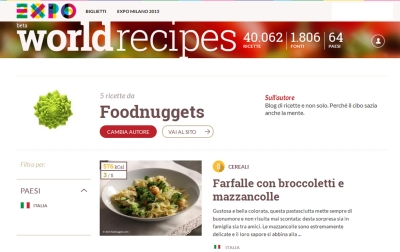 Expo Worldrecipes Foodnuggets