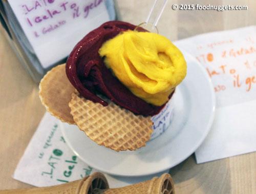Coppetta di gelato