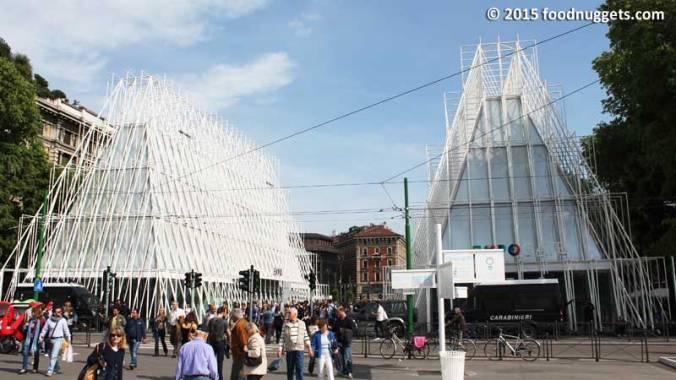 ExpoGate di Piazza Castello