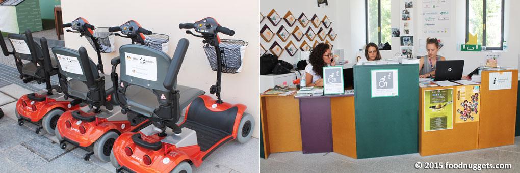 Expo Infopoint disabili Cascina Triulza