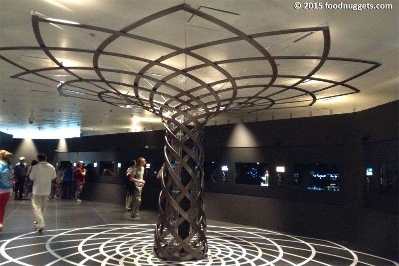 L'Albero della Vita al centro della sala