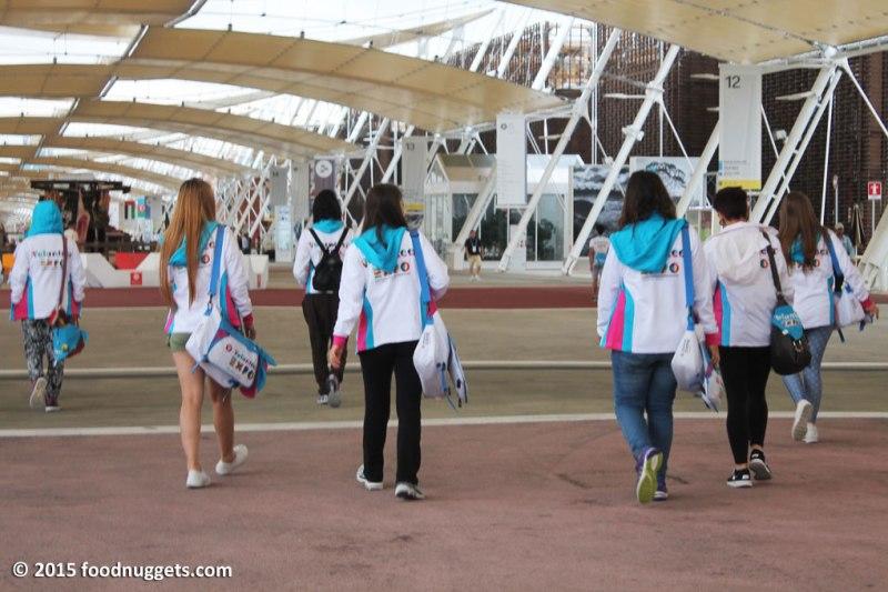 Volontari di EXpo