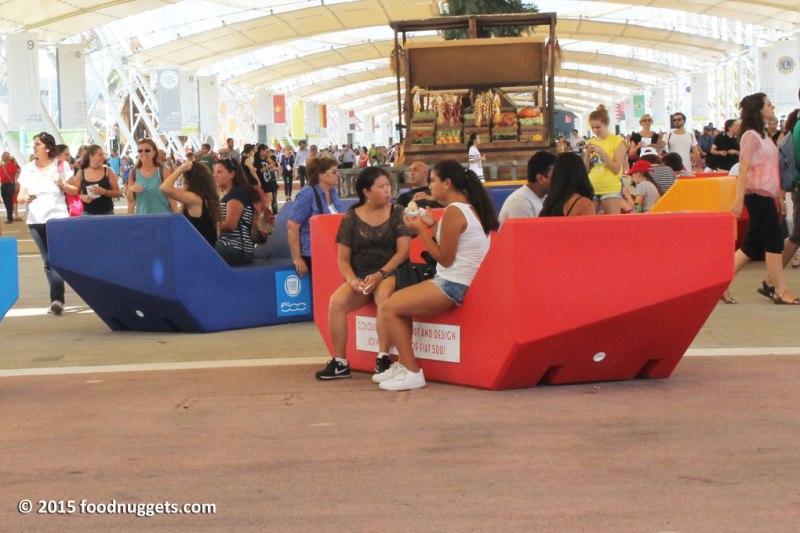 Chaise-longue sul Decumano