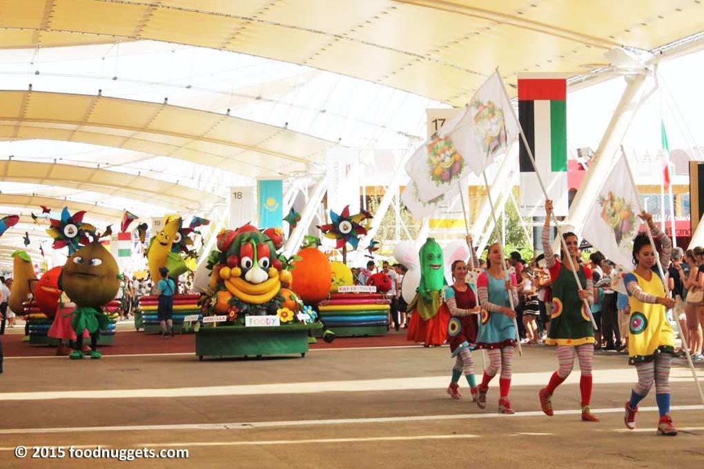 Parata di Foody a Expo