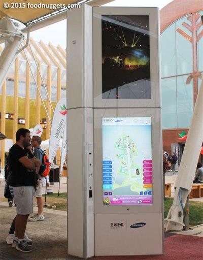 Totem digitale in Expo