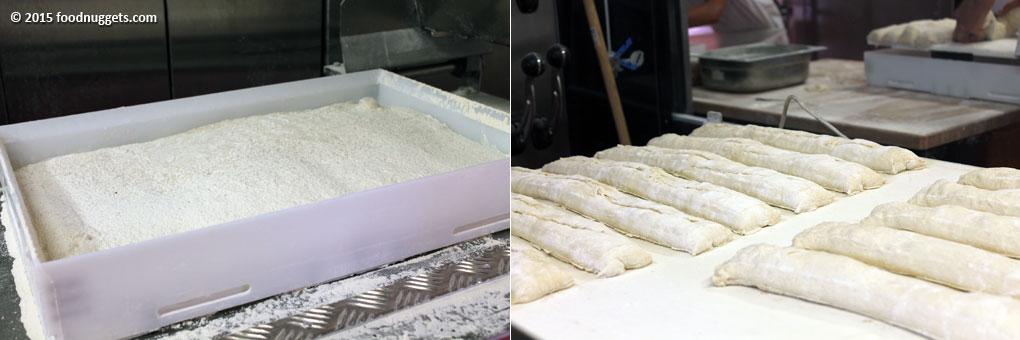 Baguette in lievitazione in Expo