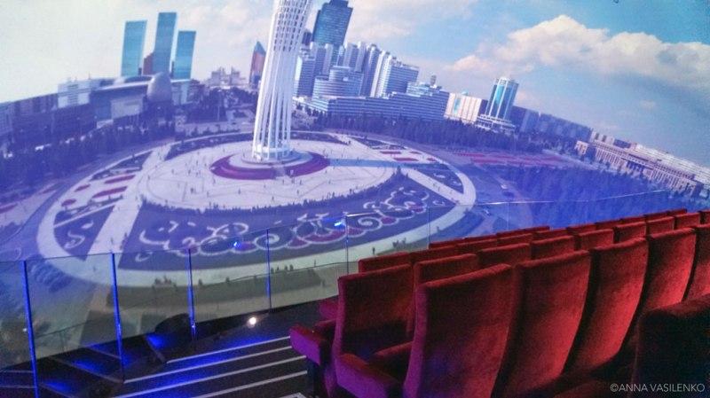 Cinema Movimento nel Padiglione del Kazakhstan