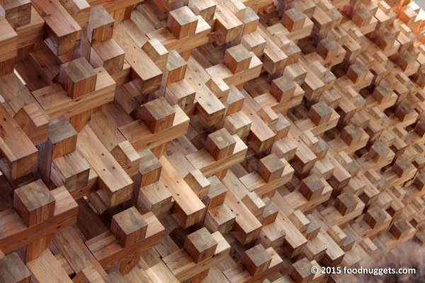 Griglia tridimensionale del padiglione Giappone