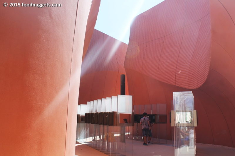 Cubi del padiglione degli Emirati in Expo