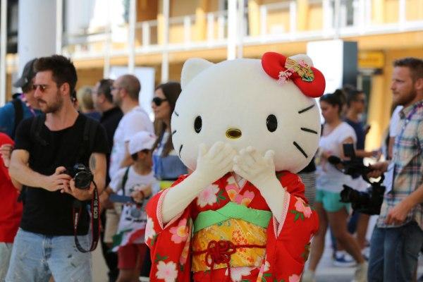 Hello Kitty in kimono