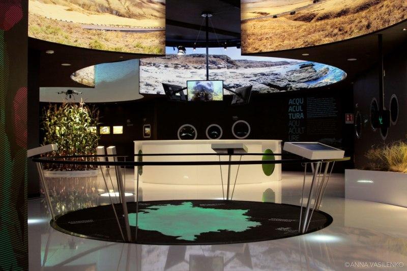 Installazione sul Lago d'Aral in Expo