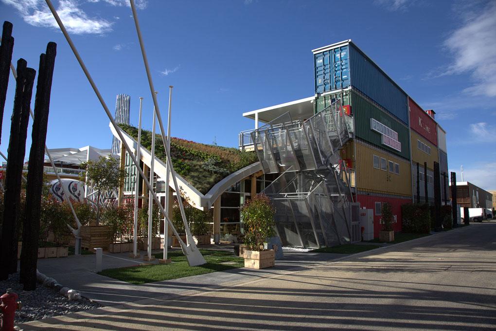 Il padiglione di Monaco in Expo