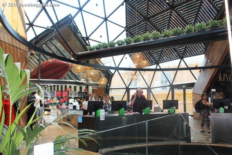La cupola geoditica del padiglione del Belgio in Expo