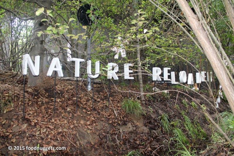 """Insegna """"Nature Reloaded"""" nel padiglione austriaco in Expo"""