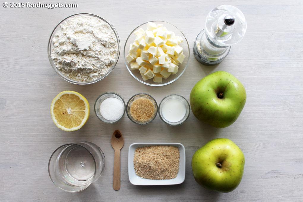 Ingredienti Mini Apple Pie