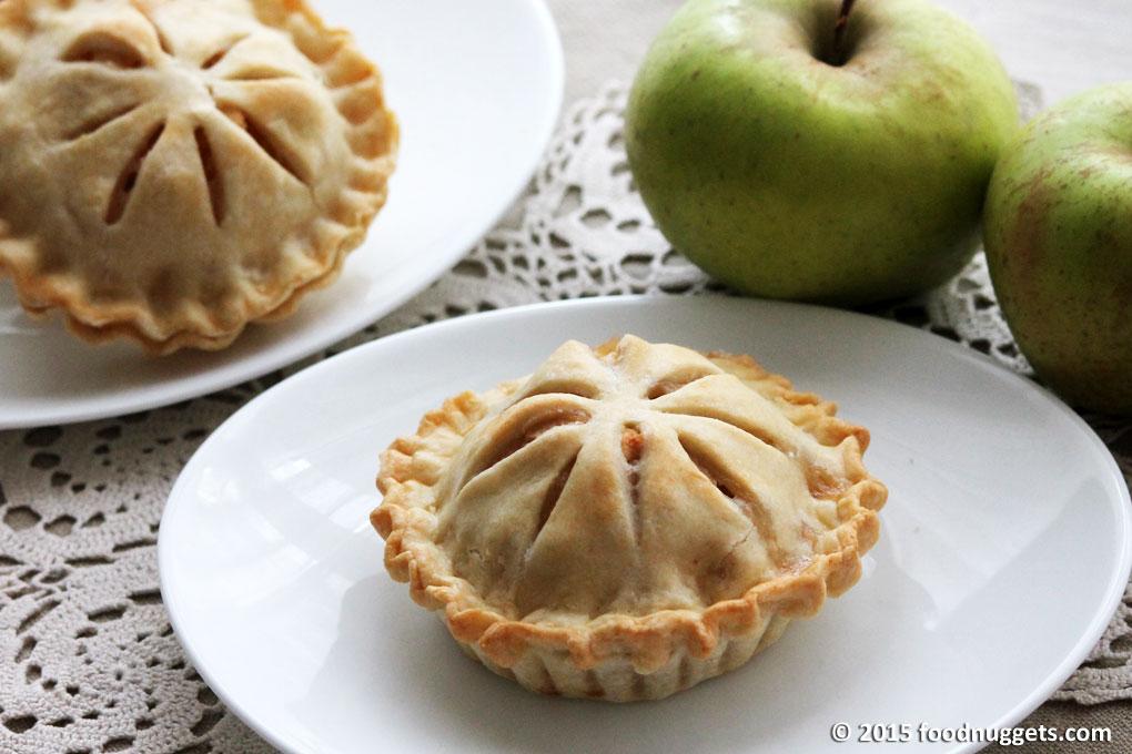 Mini Apple Pie con mele renette