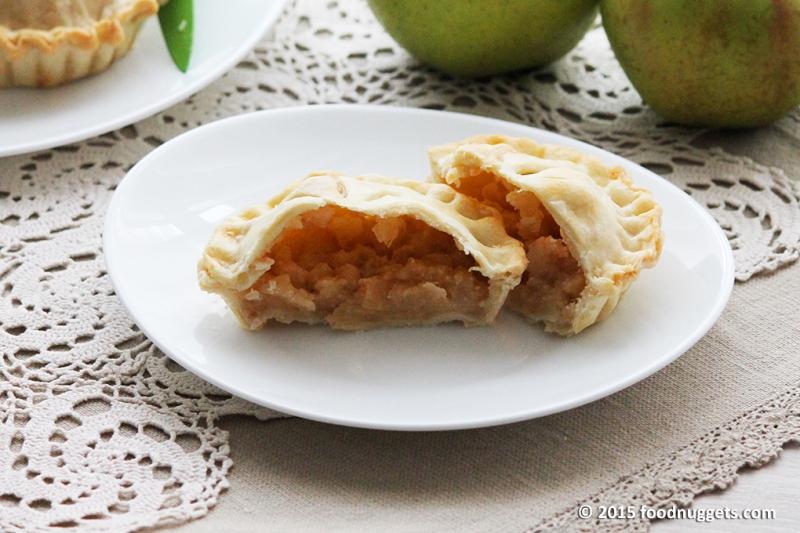 Mini Apple Pie aperta
