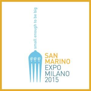 Logo del Padiglione di San Marino in Expo