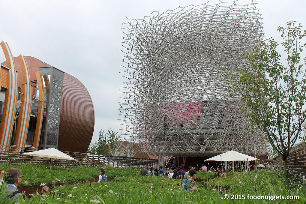 Padiglione del Regno Unito in Expo Milano 2015
