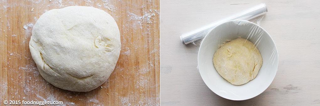 Lavorazione del panetto