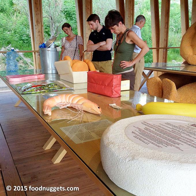 """""""Il carrello della spesa"""" nella mostra di Slow Food in Expo"""