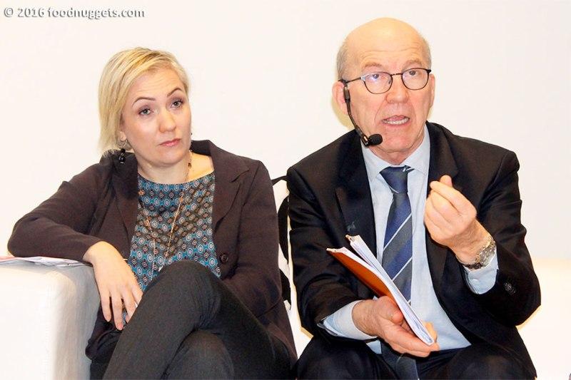 Lara Sanfrancesco e Giuseppe Morino intervengono all'incontro Unaitalia