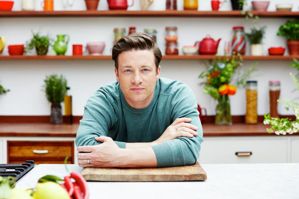 Lo chef Jamie Oliver